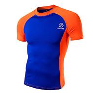 Men's Short Sleeve T-Shirt,Cotton Casual / Work / Formal / Sport / Plus Sizes Print