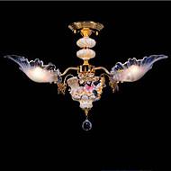 Lustres ,  Tradicional/Clássico Rústico/Campestre Vintage Retro Rústico Pintura Característica for LED CerâmicaSala de Estar Quarto Sala