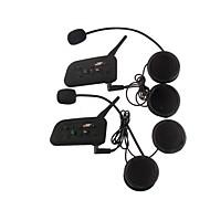 1200m waterdicht motorhelm intercominstallatie full duplex intercom bluetooth headset v6