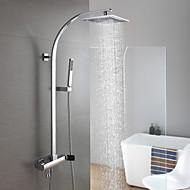 Torneira de Chuveiro / Torneira pia do banheiro - Chuveiro Tipo Chuva - Latão ( Latão Antiquado ) - ESTILO Contemporâneo