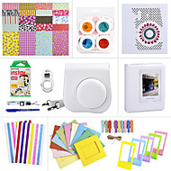 Camera Accessory Bundles Set for Fujifilm Instax Mini 8 (Mini Film/Mini 8 case/ Sticker/ Album etc.(White)