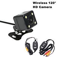 RenEPai® Wireless 120°HD 4LED Waterproof Night Vision Car Rear View Camera for 420 TV Lines NTSC / PAL 12V