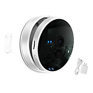 Snov® 720P Wifi Night Vision IP Camera with Wireless Door Sensor, Motion Detection, APP