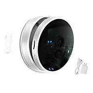 cámara de visión nocturna IP 720p wifi snov® con sensor de puerta inalámbrico, detección de movimiento, aplicación