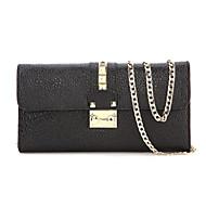 Women Cowhide Envelope Shoulder Bag / Clutch / Evening Bag / Card & ID Holder / Wristlet / Business Card Holder