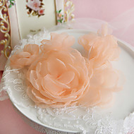 Women's Organza Headpiece-Wedding Special Occasion Outdoor Flowers 1 Piece