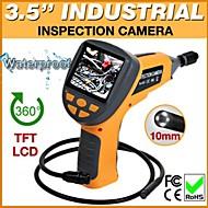 "3.5 ""video inspectie slang omvang camera endoscoop endoscoop 4 leds 10mm"