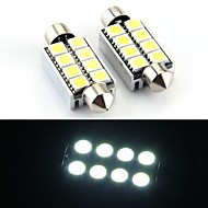 8 SMD LED canbus 214 569 Innenraum Lampe Licht 43mm (2 Stück)