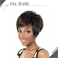 Unprocessed Celebrity Wig Machine Made Short Wig Human Hair None Lace Brazilian Hair Straight Full Lace Human Hair Wig