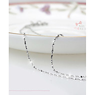 Lucky Doll Women's All Matching Sterling Silver Platinum Plated Necklace