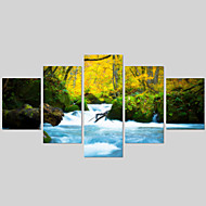 5 Piece(No Frame) Landscape Wall Painting Modern Home Decor Picture Art HD Print Painting On Canvas For Living Room