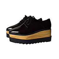 Women's Shoes  Platform Creepers / Pointed Toe / Closed Toe Oxfords Casual Black