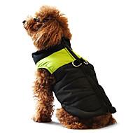 Hunde Mäntel / Weste Rot / Orange / Gelb / Grün / Blau / Schwarz / Rosa Hundekleidung Winter / Frühling/Herbst Einfarbig warm halten