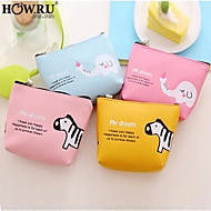 HOWRU ® Women 's PU Long Wallet/Card/Clutch bag-Blue/Pink/Yellow/Fuchsia