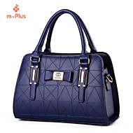 M.Plus® Women's Casual Fashion PU Leather Messenger Shoulder Bag/Tote