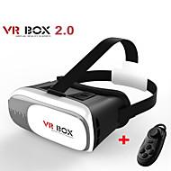 box vr versione 2.0 occhiali VR realtà virtuale 3D per 3,5 - 6,0 pollici smartphone + controller Bluetooth