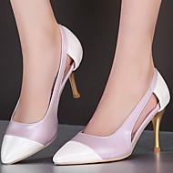 Women's Shoes Stiletto Heel/Pointed Toe/Cap-Toe Heels Office & Career/Party & Evening/Dress Pink/Purple /