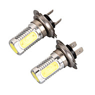 2PCS 12V H4 80W COB LED Car LED High Beam Headlamp Car LED Low Beam H4 Car Fog Lamp