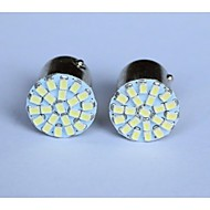 T20/T25/1156/1157 1206-22SMD Car Tail Brake Light Turn Light Reversing lamp Side Marker Light White Blue