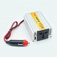 ziqiao 150w draagbare auto omvormer adapater oplader converter transformator DC 12V naar AC 220V