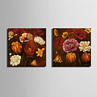 Mini Size E-HOME Oil painting Modern Flowers Bloom Pure Hand Draw Frameless Decorative Painting