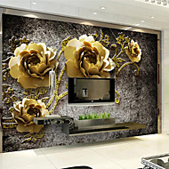 JAMMORY Art Deco Wallpaper Luxury Wall Covering,Other A Large Mural Wallpaper Peony Flower