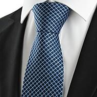 Hrášek-Kravata(Tmavě modrá,Polyester)