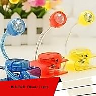 mlsled® luova clip valkoinen valo johti pieni pöytävalaisin kotitalous yövalo tietokoneen näytön valo (eri värejä)