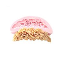 kampa muotoinen kukkia silikonimuottia konvehti muotit sokeria askarteluun suklaa muottiin kakkuja