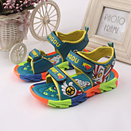 Boy's Sandals Spring / Summer Sandals / Slingback / Open Toe Leather Outdoor / Casual / Athletic Blue / Green