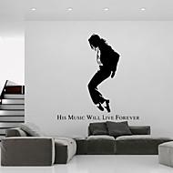 מוזיקה / מילים וציטוטים / אנשים מדבקות קיר מדבקות קיר מטוס,vinyl 57*134cm