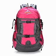 Men Canvas / Nylon Sports / Outdoor Backpack / Sports & Leisure Bag / Travel Bag-Blue / Yellow / Red / Black