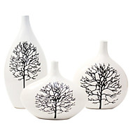 Modern Ceramic Craft Ornaments for Home Decoration 3pcs/set