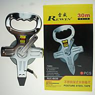 rewin® verktøy holdning stål tape 30m med hele stål høy hardhet