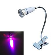 5W E26/E27 LED-kasvivalo 5 COB lm Punainen / Sininen AC 85-265 V 1 kpl