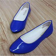 Women's Shoes Leatherette Flat Heel Comfort Flats Outdoor / Casual