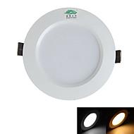 Zweihnder Wiring 7W 3.5Inch 600LM 3000-3500 / 5500-6000K 14x5730 SMD LEDs Warm/White Light Ceiling Light (AC 100-265V)