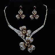 Ensemble de bijoux Cristal / Stras Alliage Femme