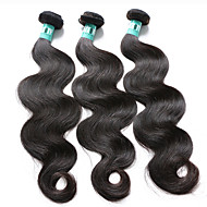 Natural Color Hair Weaves Brazilian Texture Body Wave 3 Pieces hair weaves