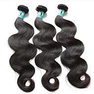 3 pièces / lot 8-30inches brésilien ondes de corps de cheveux vierges 100% non transformés brésiliens faisceaux de tissage de cheveux humains