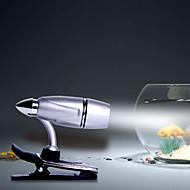 mlsled® bullet clip valkoinen valo johti pieni pöytävalaisin kotitalous yövalo tietokoneen näytön valo