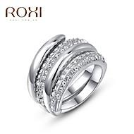 Prstenje Moda Vjenčanje Jewelry Legura Žene Prstenje sa stavom 1pc,Univerzalna veličina Zlatna