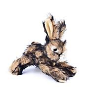 Zabawka dla kota Zabawka dla psa Zabawki dla zwierząt Zabawki Pluszowe Pisk Rabbit Tekstylny Brown