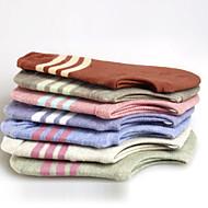 12 par kvinners bomull sokker tilfeldige sokker av høy kvalitet til løping / yoga / fitness / fotball / golf