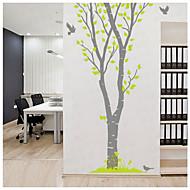 Animals Bird Wall Decal Botanical / Landscape Wall Stickers Plane Wall Stickers,PVC 150*223cm