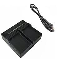 מטען כפול מצלמה דיגיטלית סוללה el14 עבור D5500 D5100 ניקון d3200 d3300 d5200 d5300