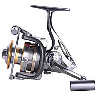 סלילי טווייה 5.2:1 12 מיסבים כדוריים ניתן להחלפהדיג בים / הטלת פיתיון / דיג קרח / Spinning / דייג במים מתוקים / אחר / דיג קרפיון / דיג בס