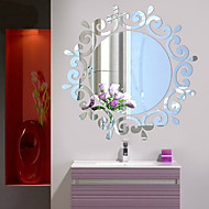 Acrylic 3D Stereo Mirror Stickers Restroom Entrance Ceiling Decoration Mirror Stickers Instead Of Mirror