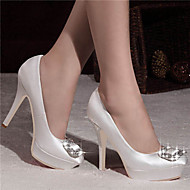 Women's Wedding Shoes Heels / Platform / Closed Toe Heels Wedding / Party & Evening / Dress Black / Blue / Green / White