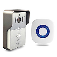 Besetey®Indoor Bell and Smart Wifi Video Doorbell HD720P Full Duplex Audio Max 5 User Use Wifi Doorbell for Phone Pad PC